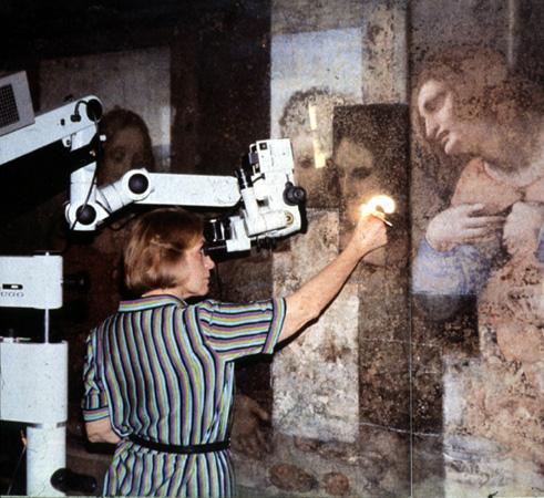 Barcilon Restoring da Vinci (1985) - copia