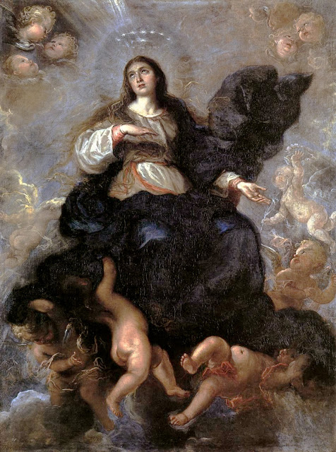 Carreno de Miranda, Assumption of Virgin c1657